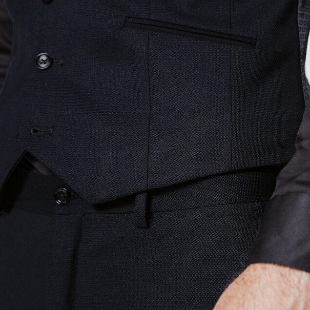 Gilet de costume coupe slim motifs jacquards