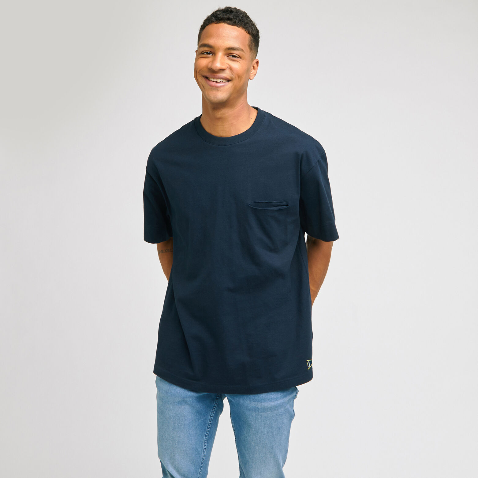 Tee-shirt coupe oversized