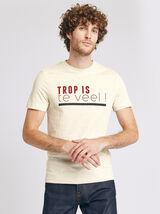 Tee-shirt avec imprimé région FLANDRES