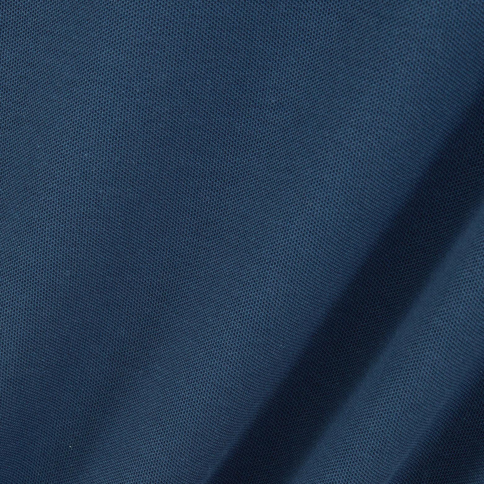 Polo manches courtes brodé en coton biologique