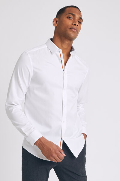 Chemise regular unienon iron coton