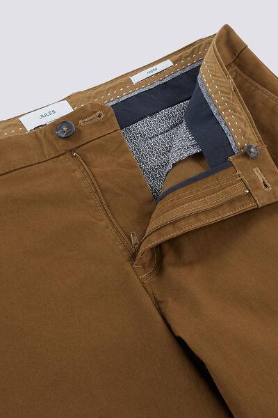 Pantalon chino regular coupe Lucian en coton issu