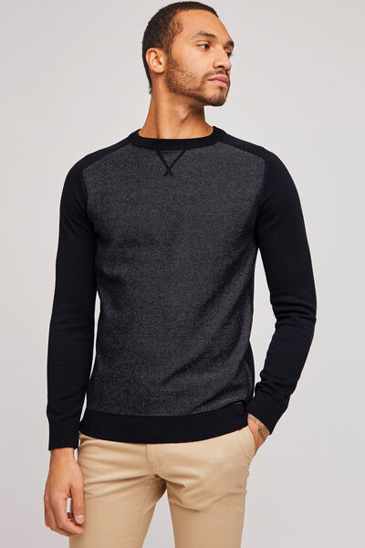 Pull col rond fine jauge