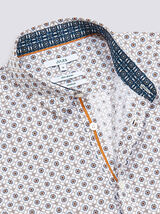 Chemise slim #louis imprimé géométrique soleil cot