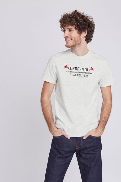 Tee shirt adulte CERF MOI