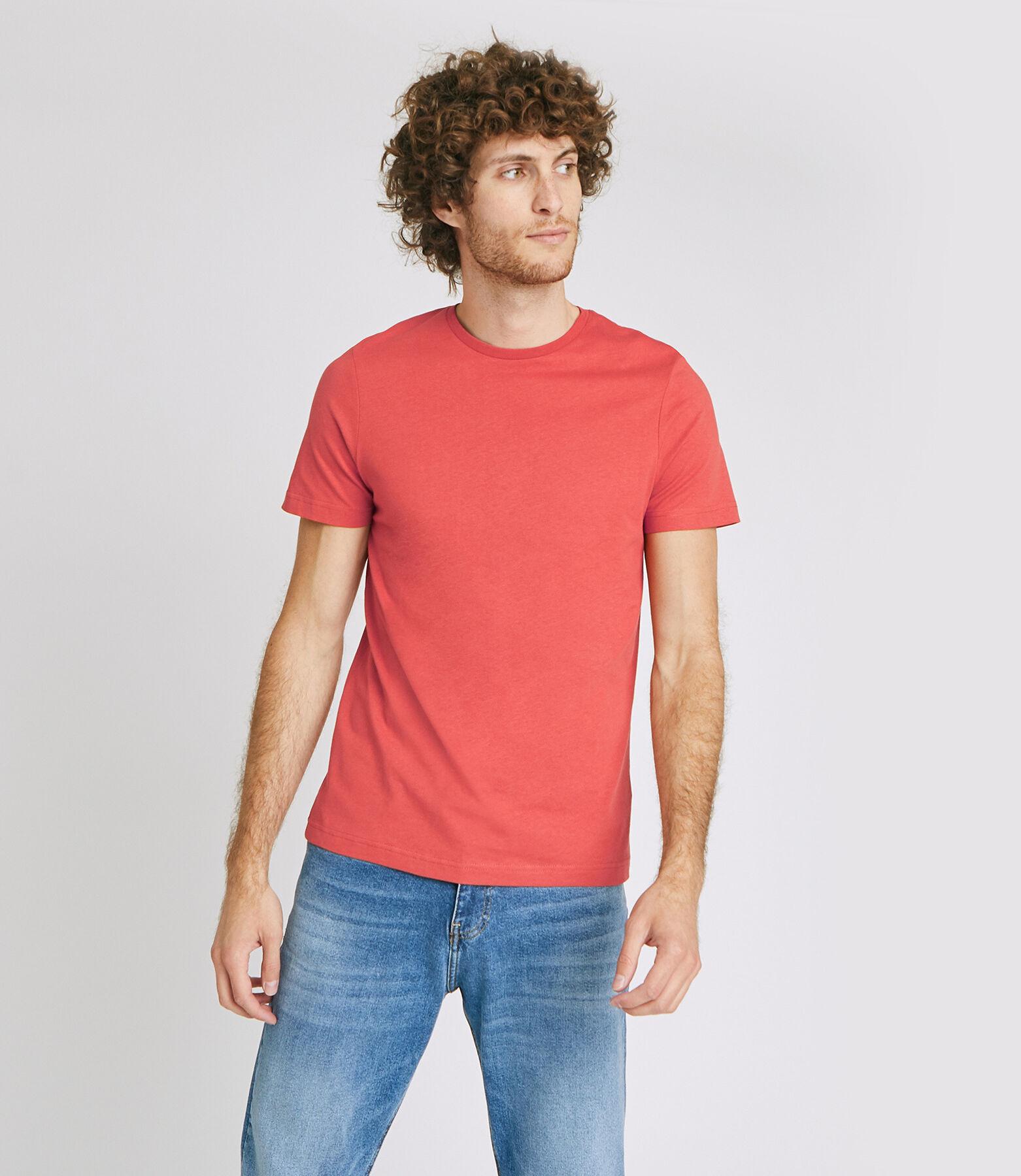 Tee shirt col rond uni
