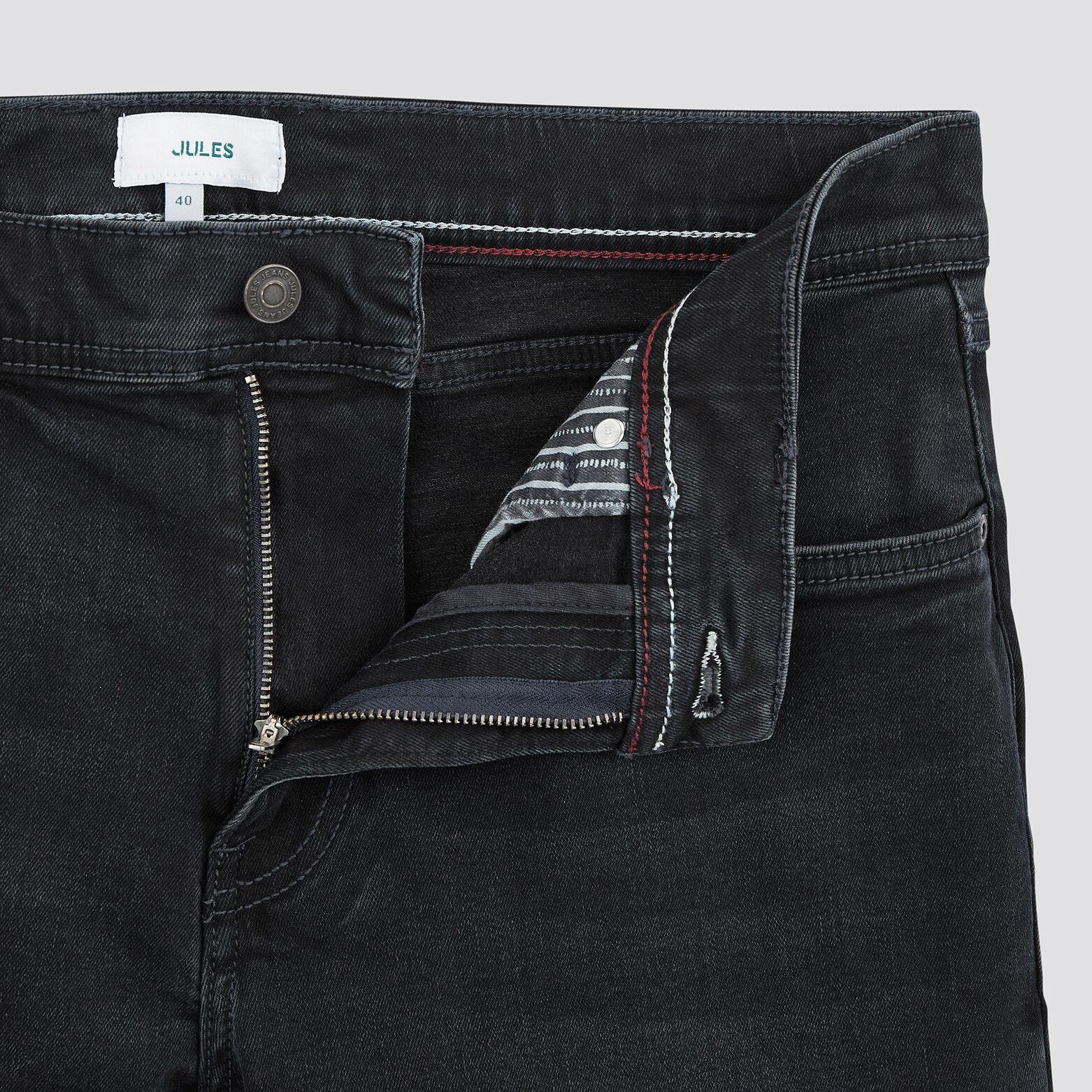 Bermuda 5 poches denim blue black