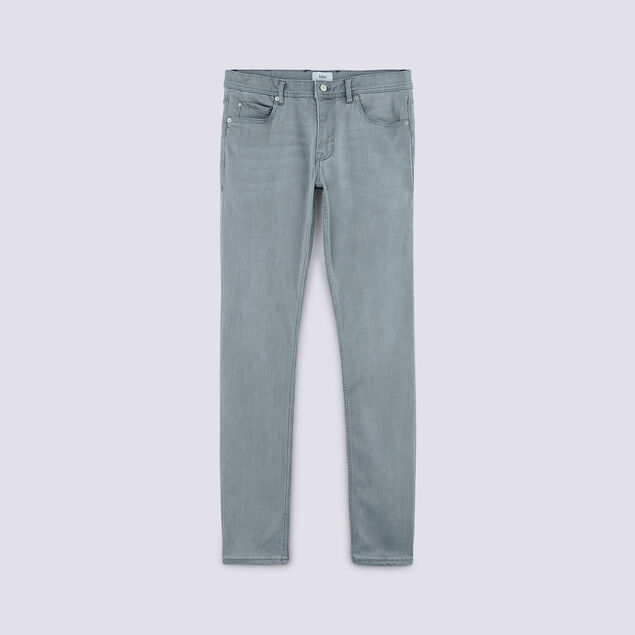 Jean slim #Tom urbanflex 4 longueurs gris
