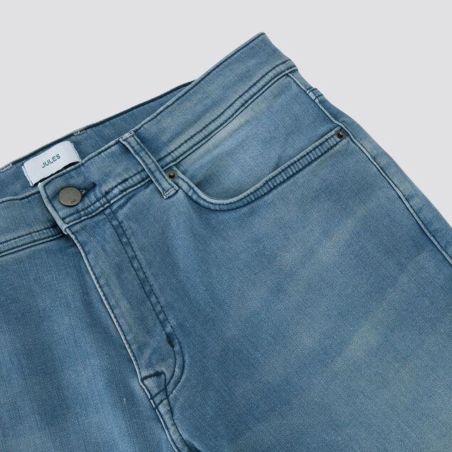 Jean slim #Tom urbanflex 4 longueurs stone clair
