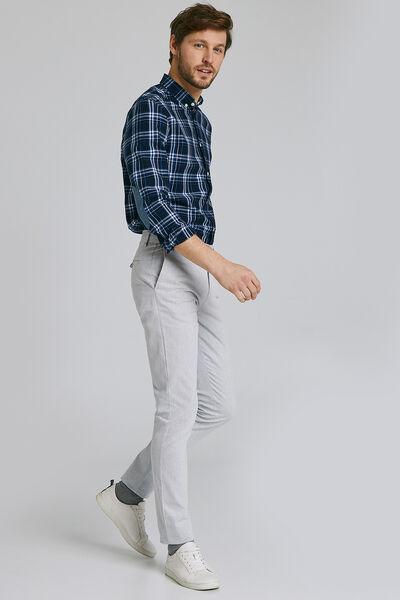 Pantalon chino slim #Simon