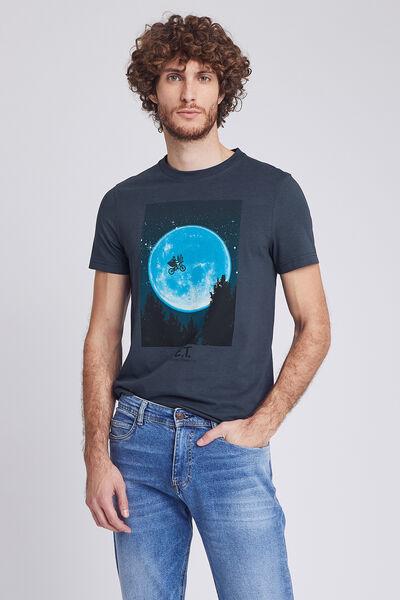 Tee shirt col rond imprimé  E.T l'extraterrestre