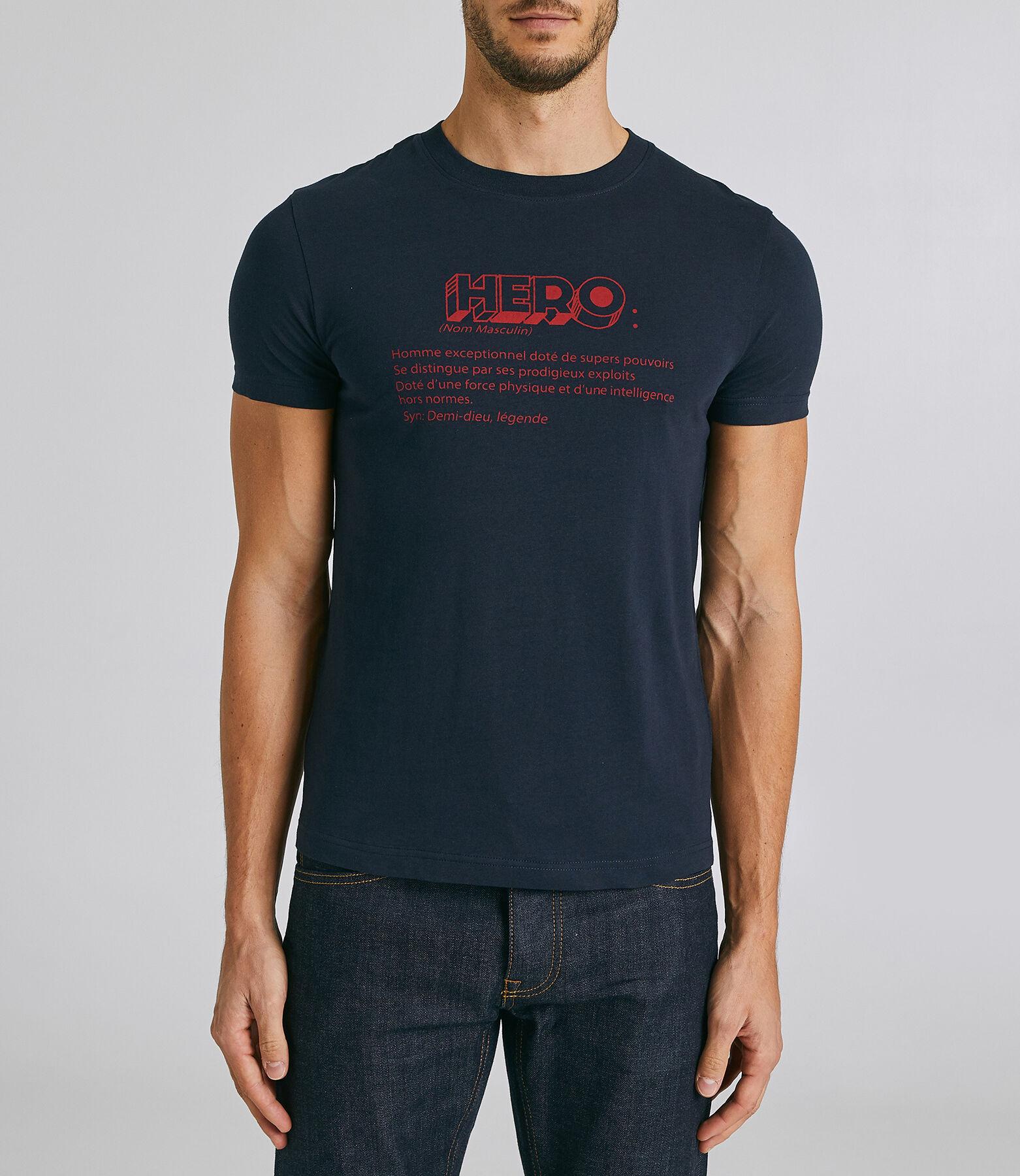 T-Shirt Bleu Marine