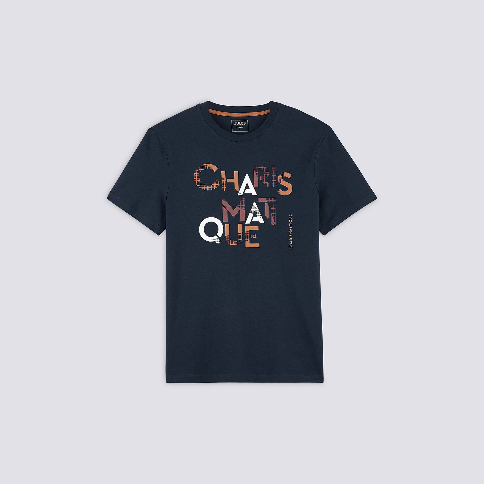 Tee-shirt typo poitrine