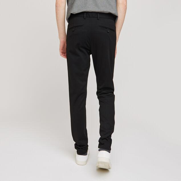 Pantalon chino slim en maille
