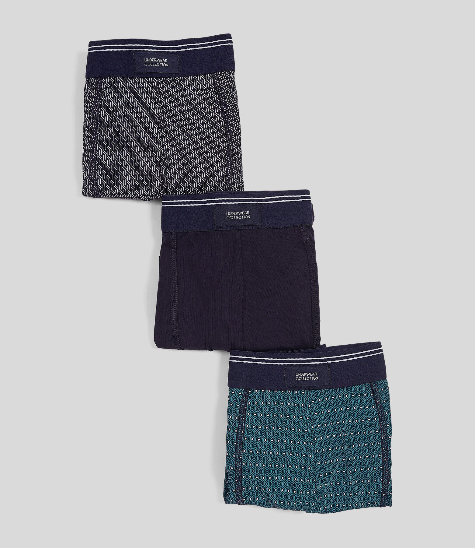 Boxer fantaisie par lot de 3