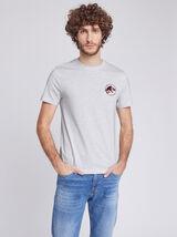 Tee-shirt col rond imprimé JURASSIC PARK