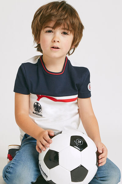 Tee-shirt junior sous licence officielle UEFA EURO