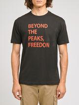 Tee-shirt COOL FIT écriture devant et poche poitri