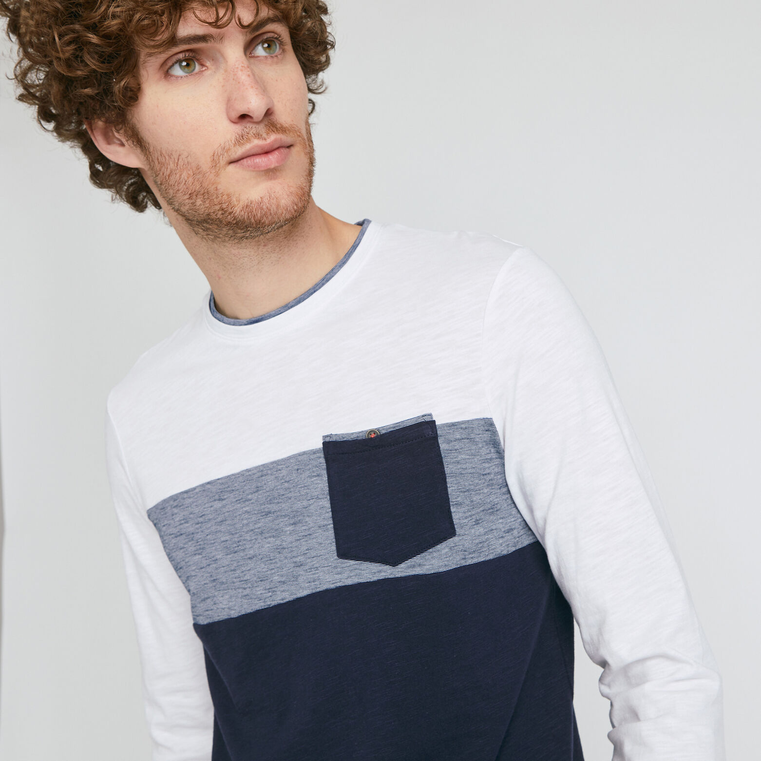 Tee-shirt colorblock