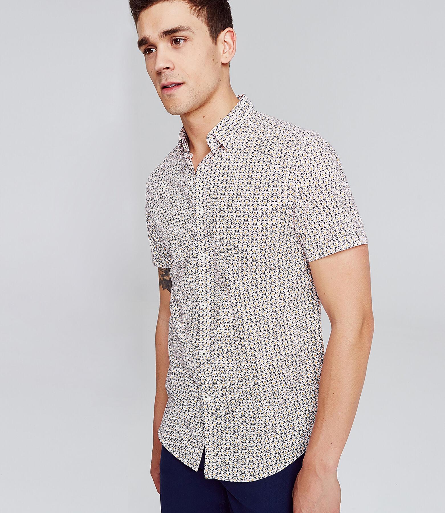 Recht hemdje met print