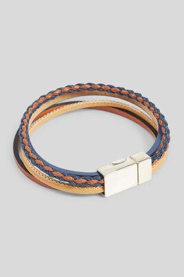 Bracelet multi-cordons homme