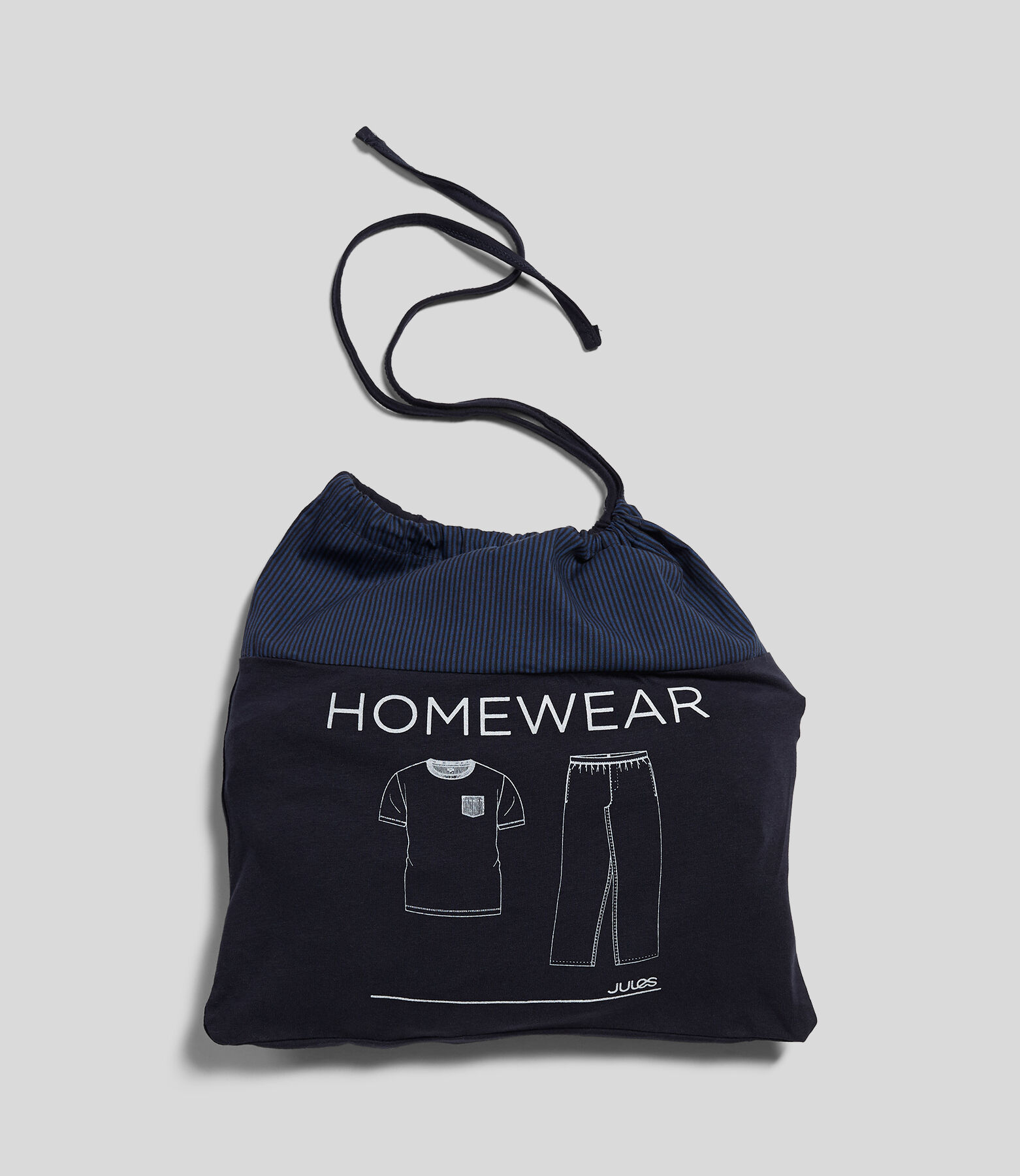 Pyjama Pantalon rayé + Tshirt