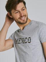 T-Shirt Gris Chiné