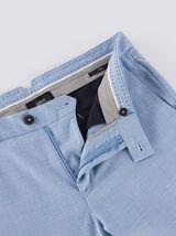 Pantalon chino slim carreaux fenêtre