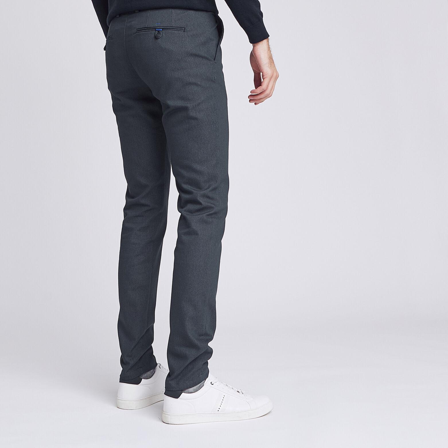 Pantalon chino slim fantaisie