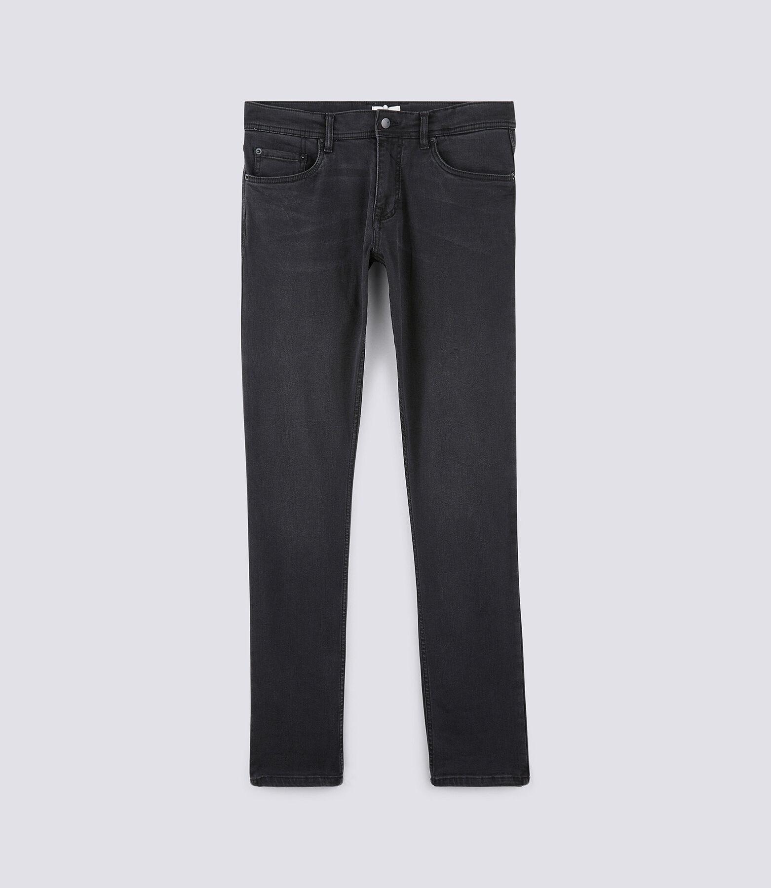 Slim jeans Urbanflex, gewassen zwart