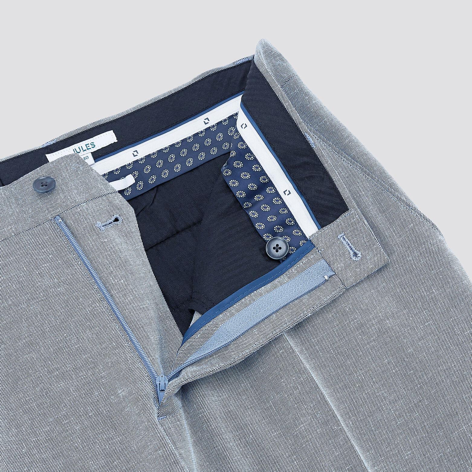 Pantalon de costume slim en lin