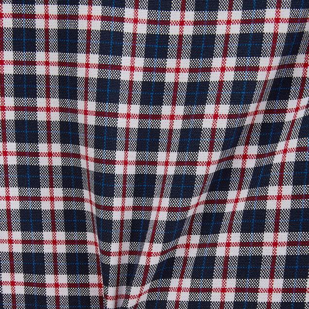 Chemise regular oxford à carreaux coton biologique