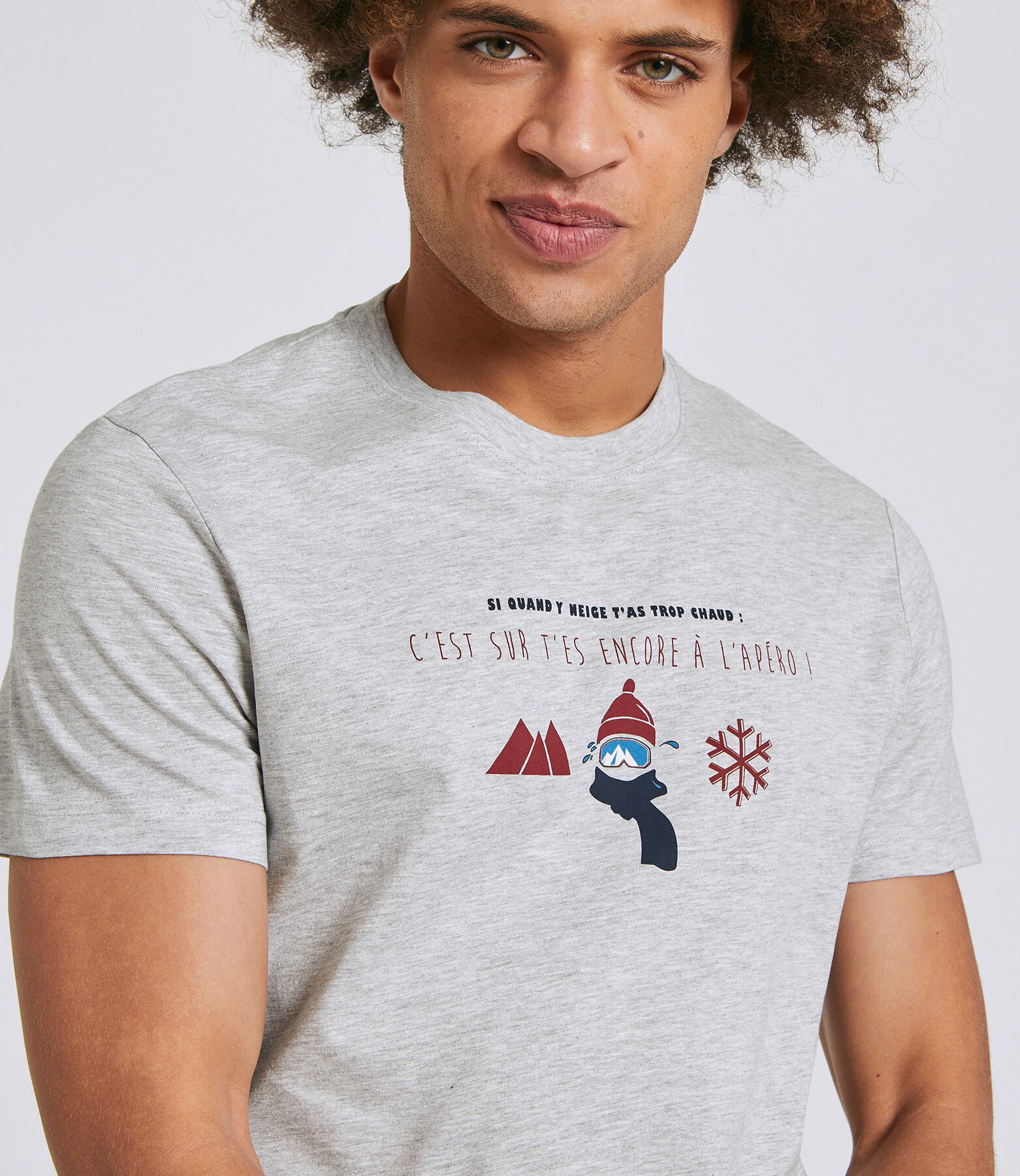 Tee shirt imprimé région Rhones-Alpes - Isère/Savo