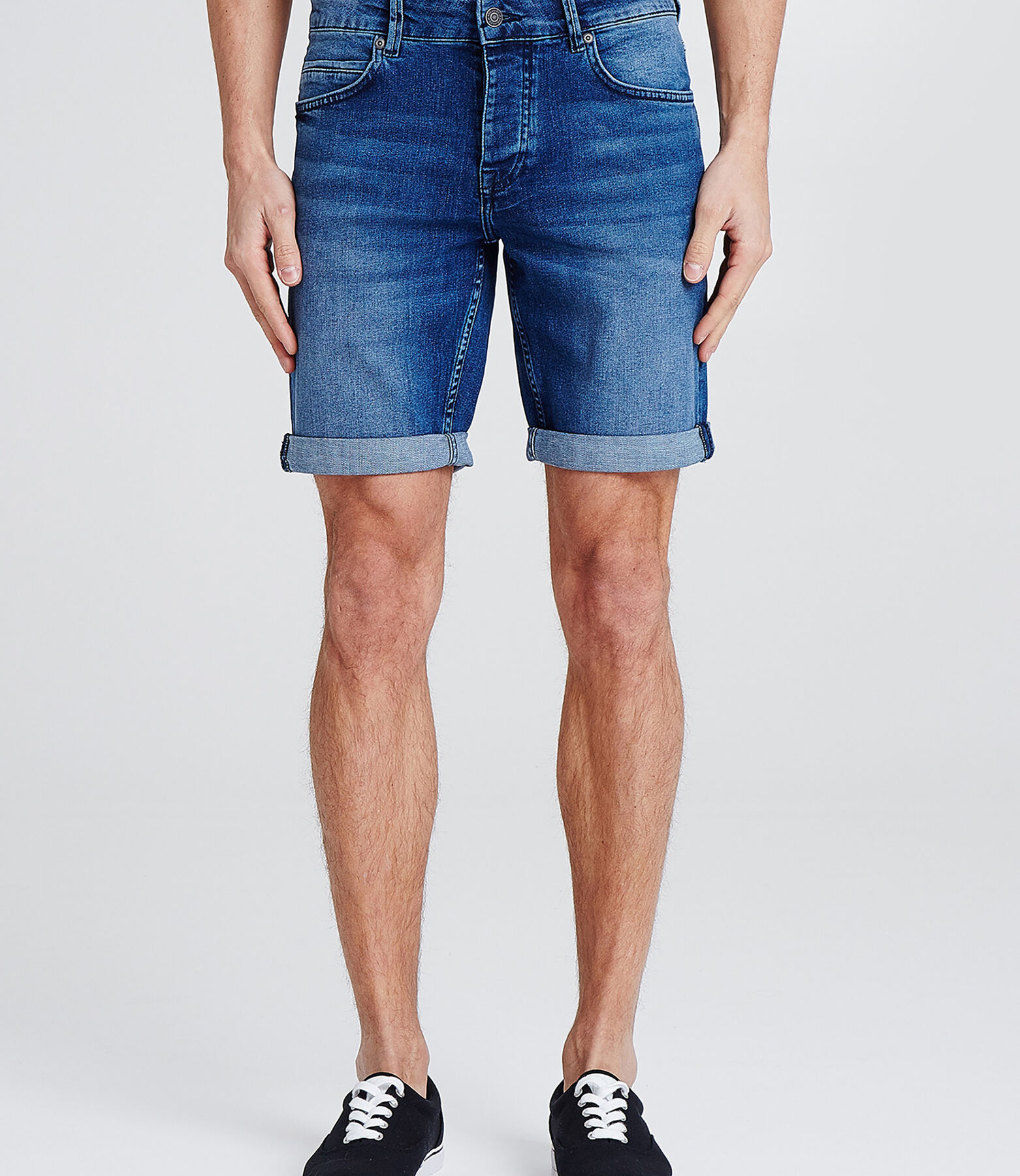 Bermuda denim stone wash