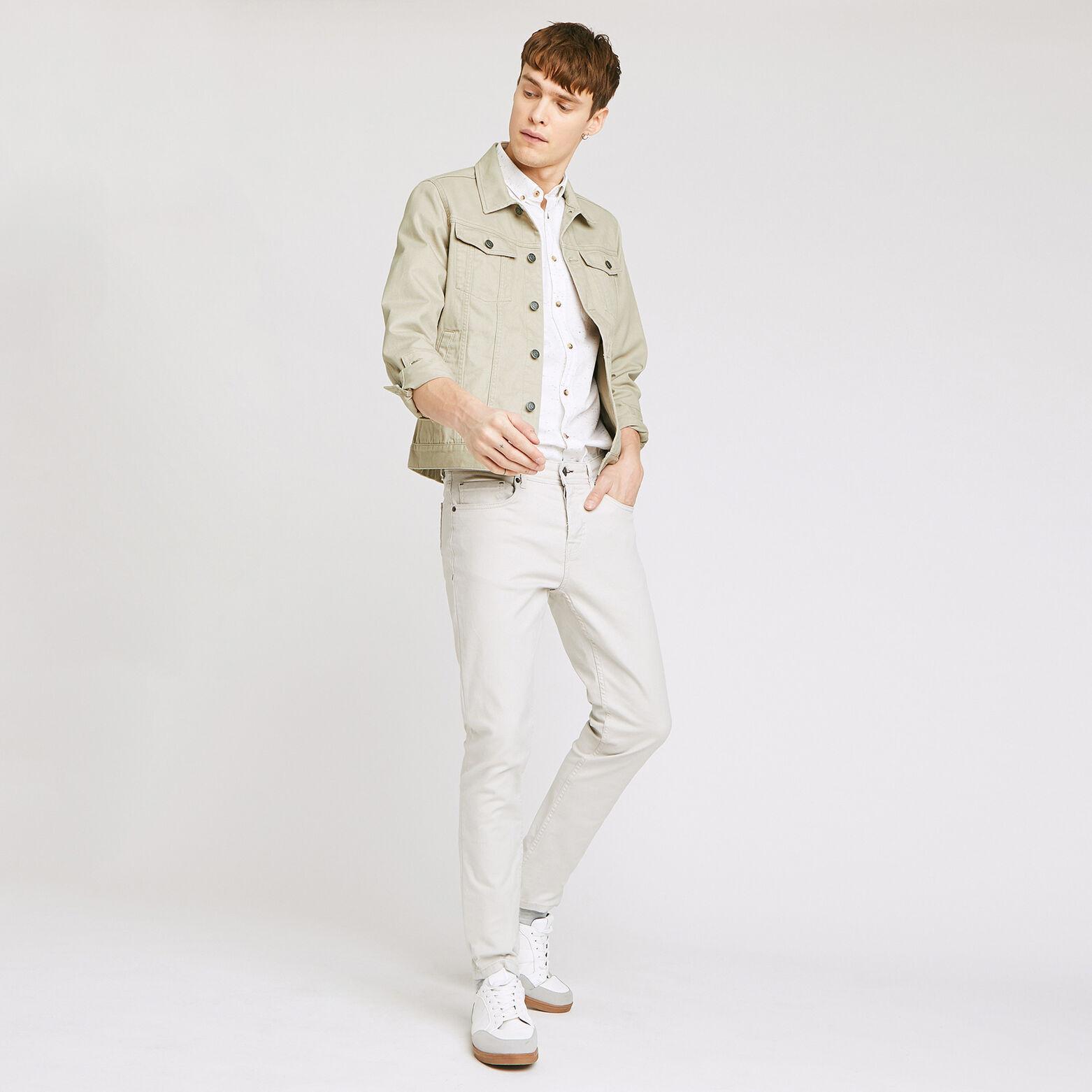 Ensemble blouson chemise pantalon