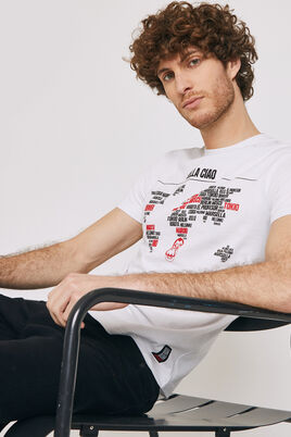 T-shirt met ronde hals, NETFLIX La Casa de Papel