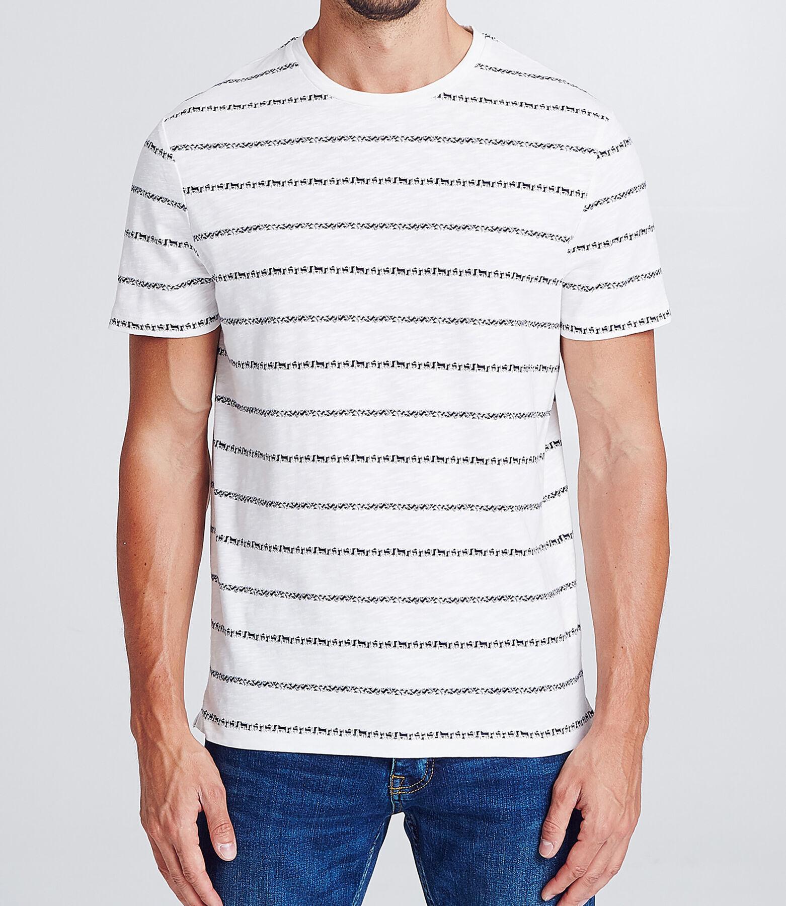 T-shirt marinière ethnique