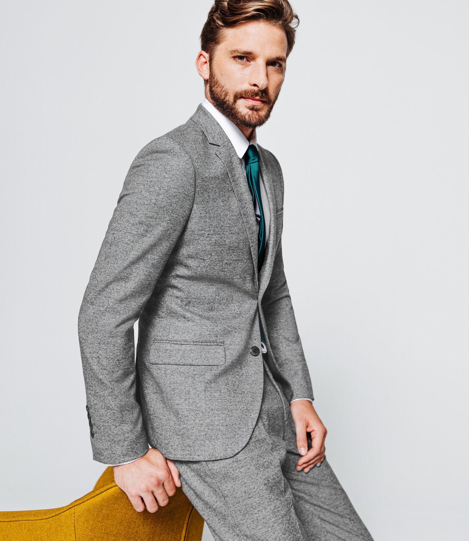 Veste de costume slim stretch