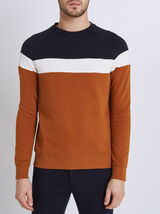 Sweater colorblock