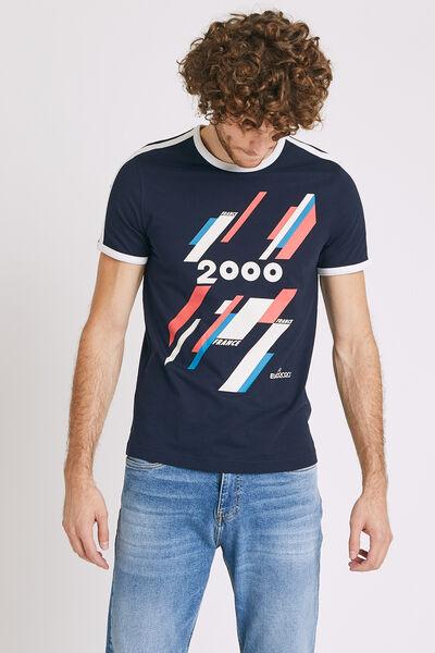 T-shirt sous licence officielle UEFA EURO 2020 col