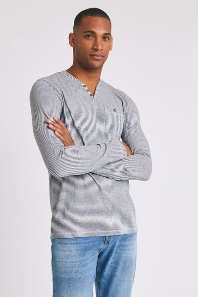 Tee shirt pyjama manches longues