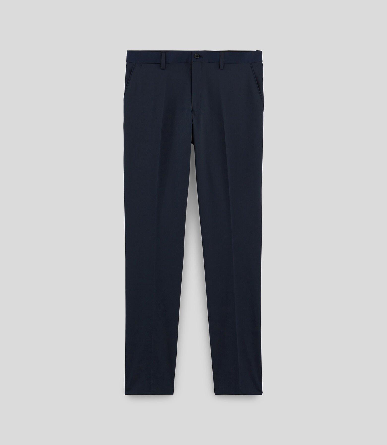 Pantalon Costume Bleu Marine