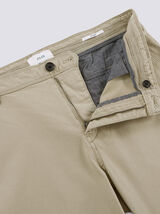 "Chino droit en coton bio ""in progress"""