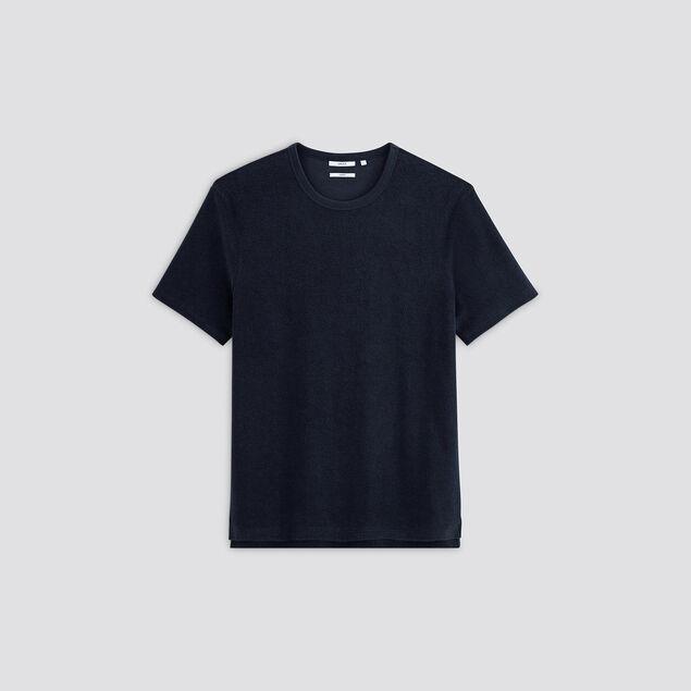 Tee-shirt matière éponge