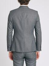 Veste de costume matière reliefée