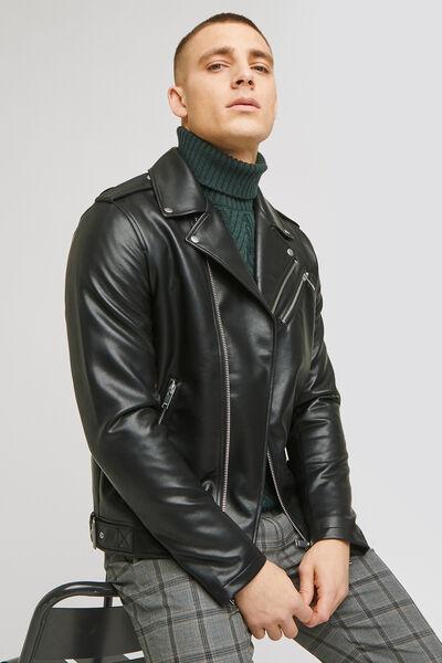 Blouson perfecto faux cuir