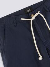 Bermuda coton lin avec cordon