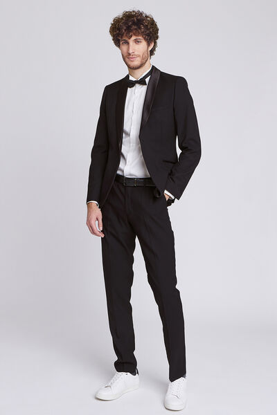veste seule smocking slim match pant costume 1er p