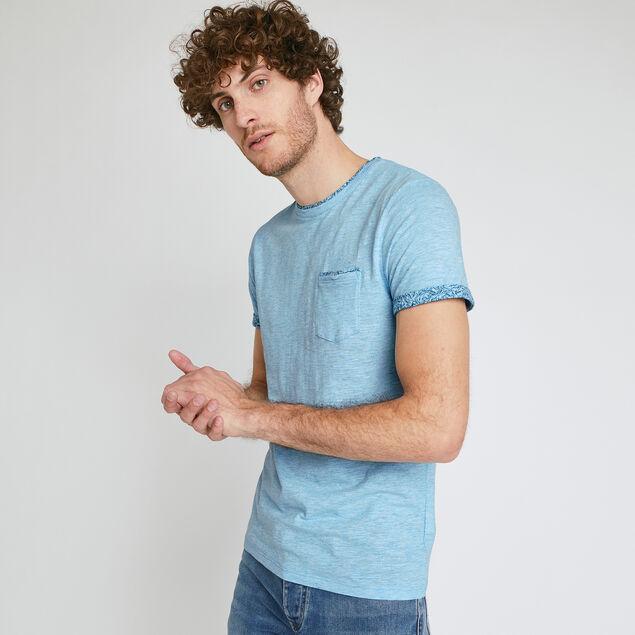 Tee-shirt matière fantaisie