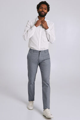 Slim fantasie chino in twill